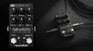 NeunaberNeuron uitar preamp pedal