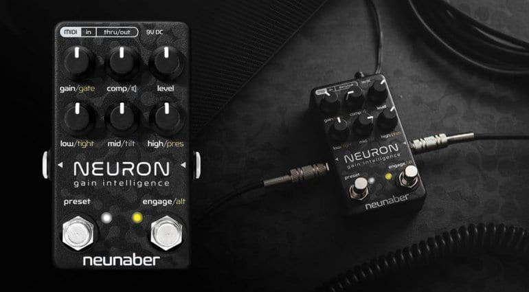namm 2019 neunaber to present hyper realistic neuron guitar preamp pedal. Black Bedroom Furniture Sets. Home Design Ideas