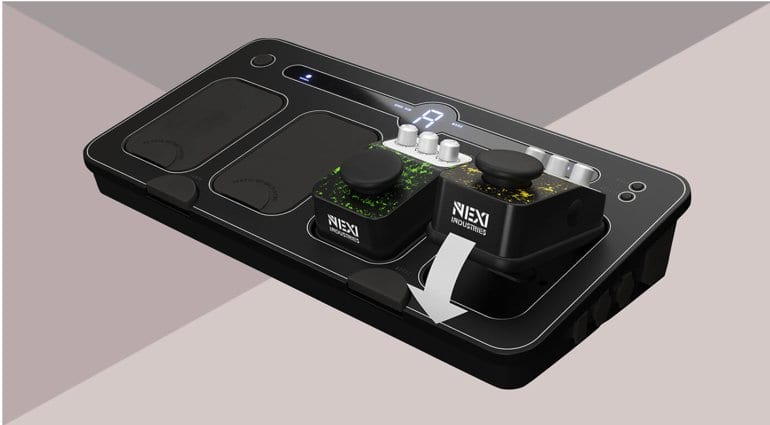 NAMM 2019 Nexi Industries Nexi Powered Pedalboard