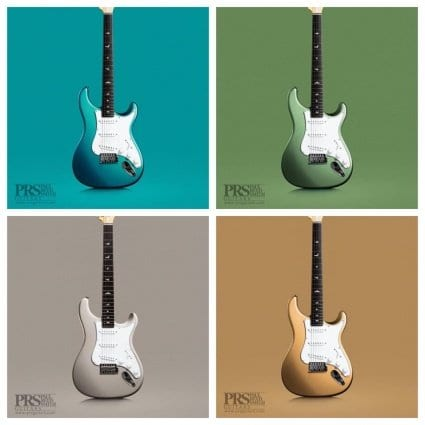 PRS John Mayer Silver Sky new colours