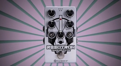 NAMM 2019 Pigtronix Resotron Pitch Following Envelope Filter Synthesizer pedal