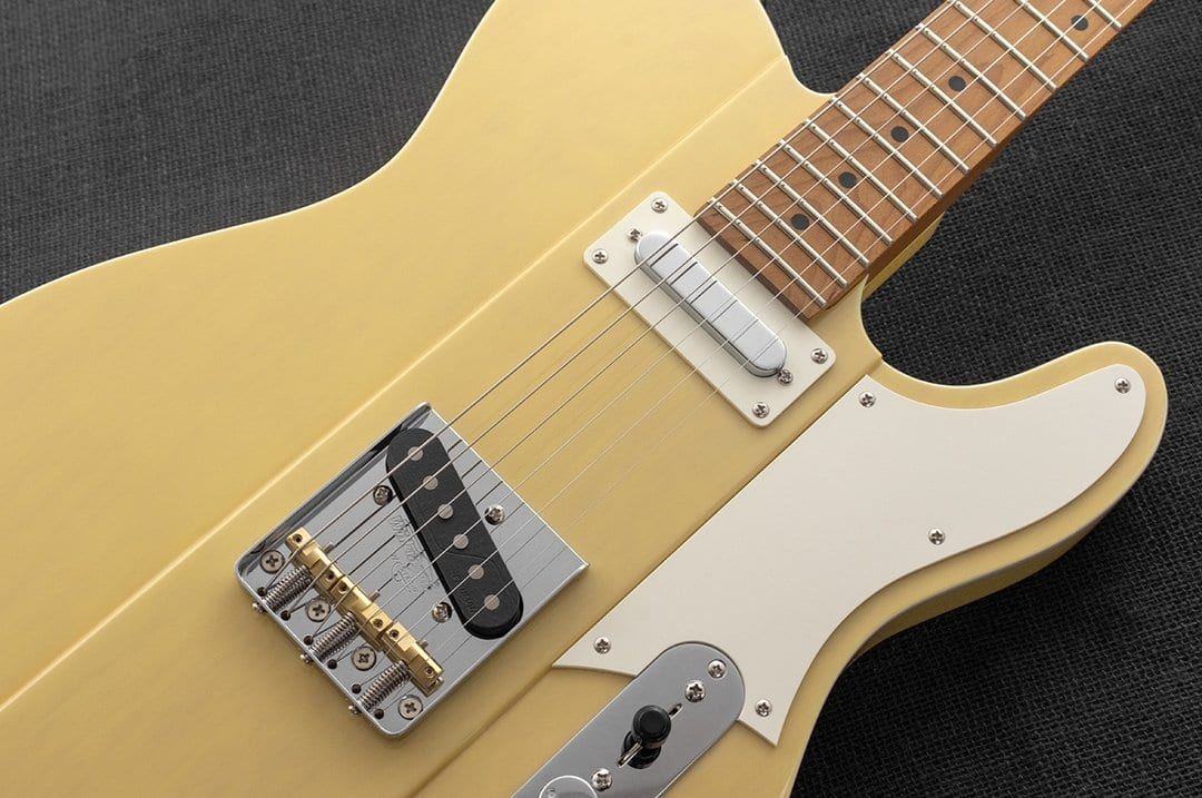 Reverend Greg Koch Signature Gristlemaster in Pow Yellow