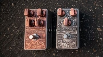 Rob Chapman's Snake Oil Fine Instruments pedals