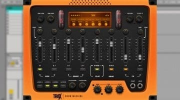 TRAX drum vst plug-in