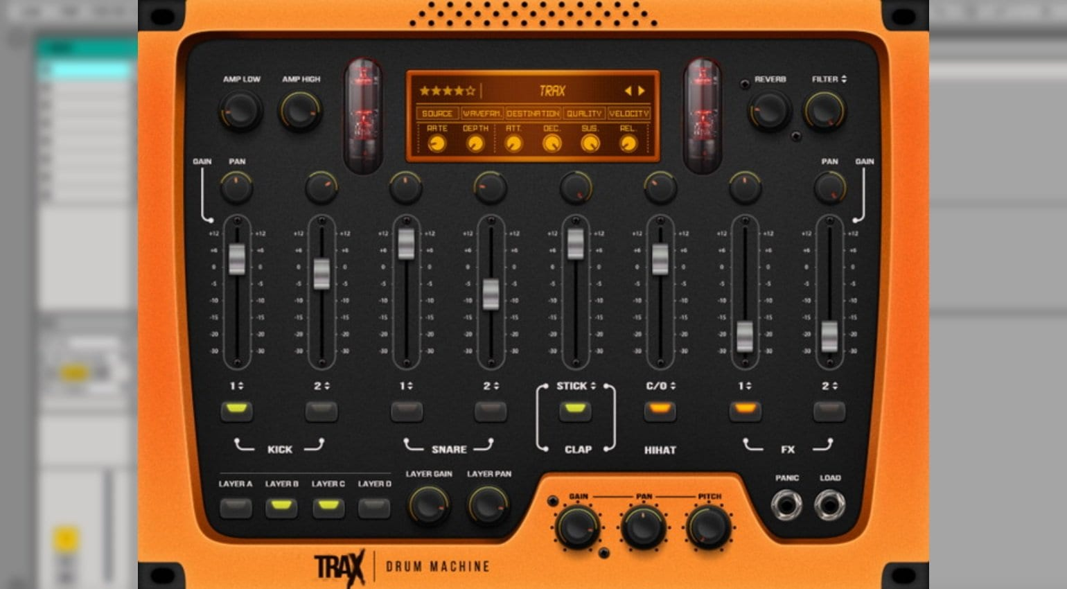 TRAX: A cool VST drum machine for modern beat-driven genres