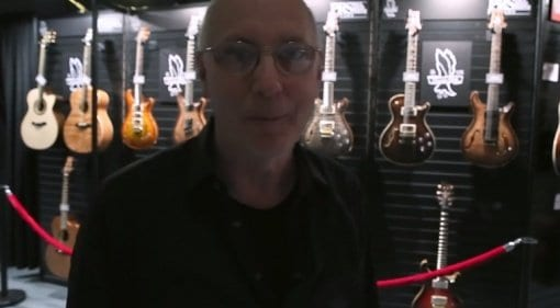 Tour PRS NAMM 2019 Booth with Paul