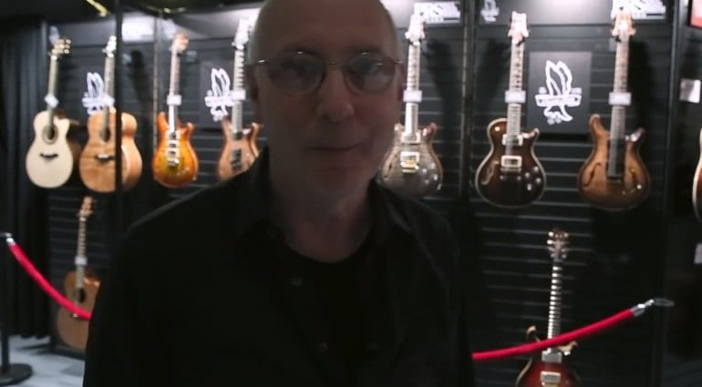 Namm 2019 Paul Reed Smith Takes You On A Tour Of The Prs