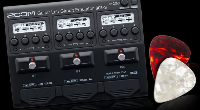 NAMM 2019: Zoom GCE-3 Guitar Lab Circuit Emulator - Super