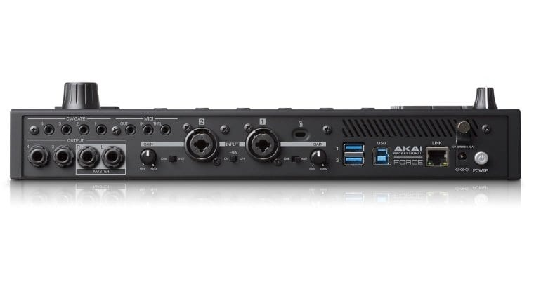 Akai Pro Force connections