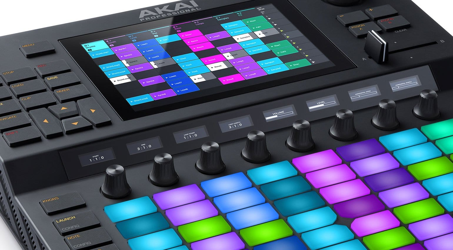 namm 2019 force from akai pro is a computer free clip. Black Bedroom Furniture Sets. Home Design Ideas