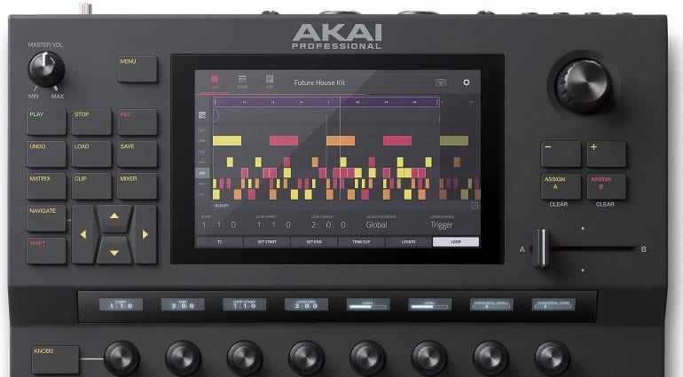 Akai Pro Force sequencing