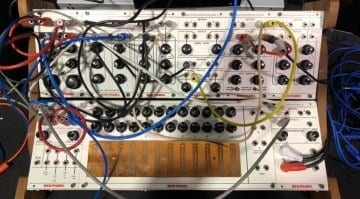 Buchla Red Panel 100 series