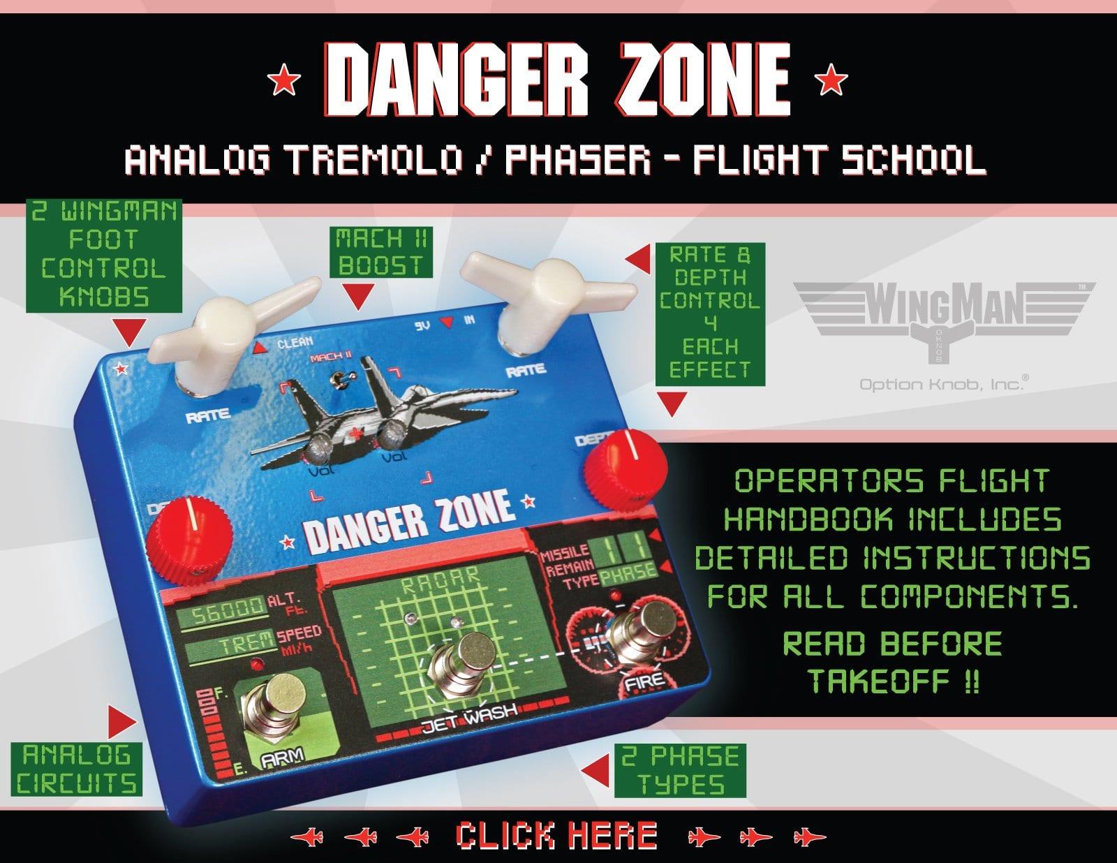 Option Knob Danger Zone WingMan