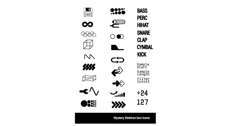Elektron Icons