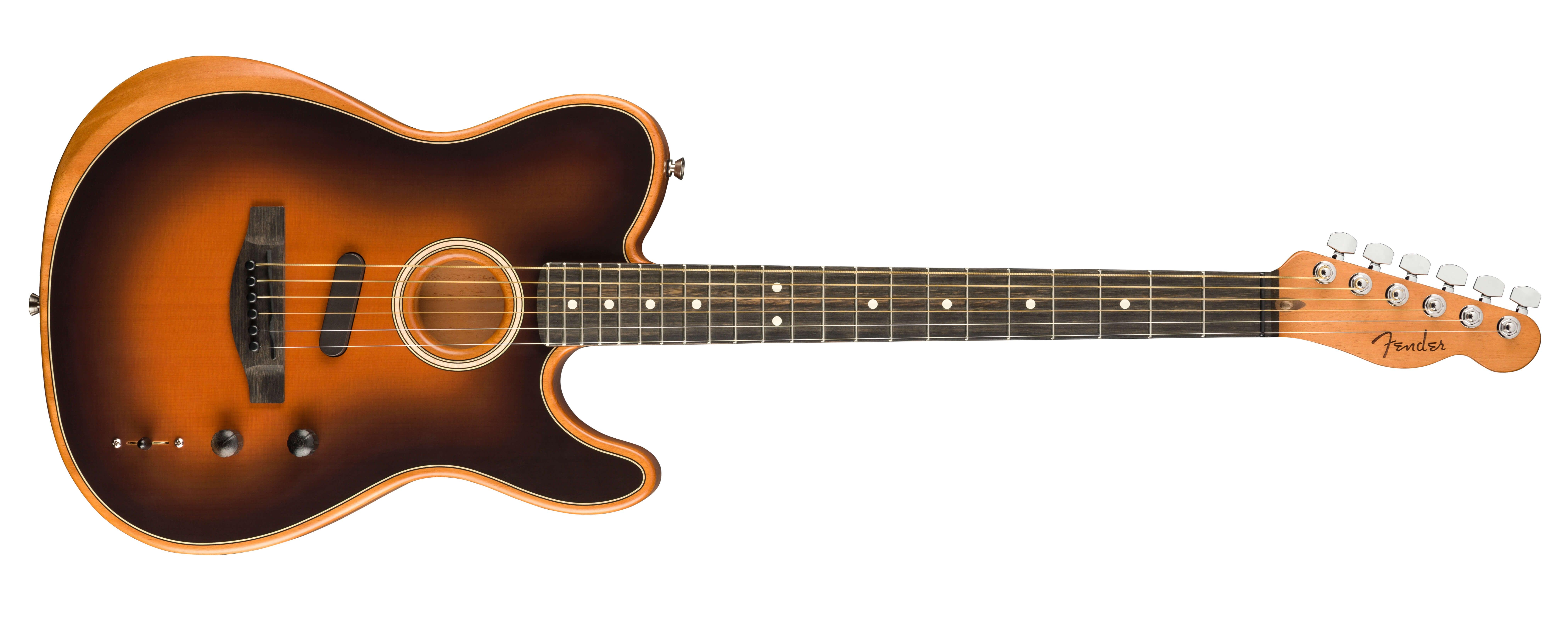 NAMM 2019 Fender American Acoustasonic Series Telecaster