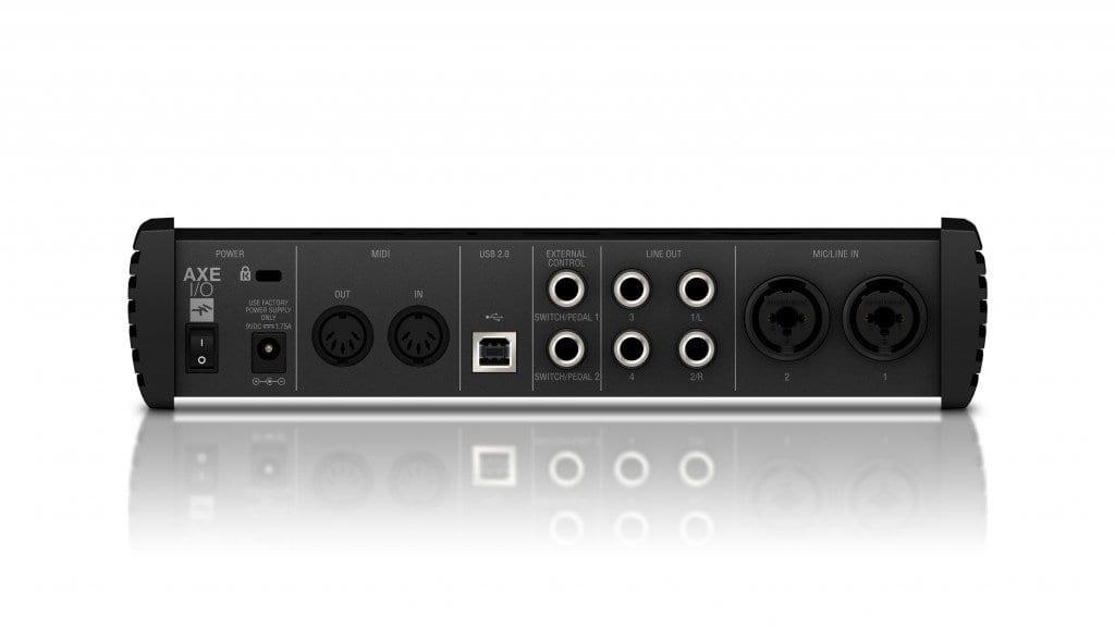 IK Multimedia rear panel connectivity