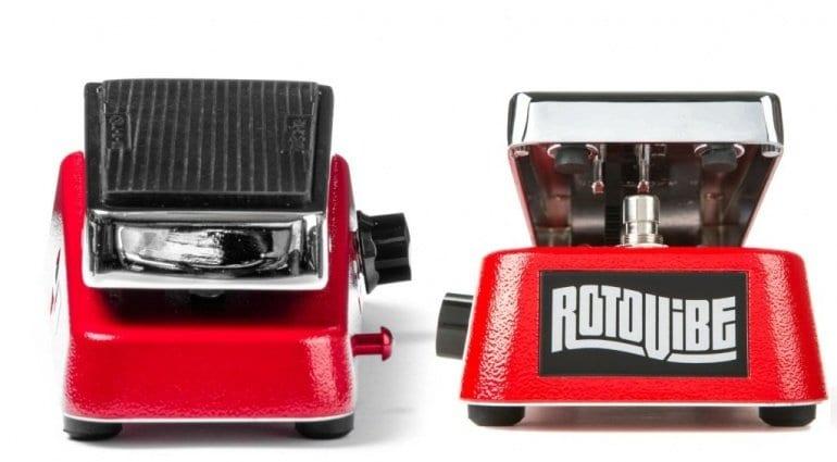 Dunlop JD4S Rotovibe Chorus Vibrato pedal is back!