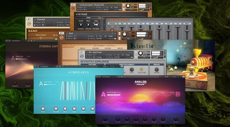 Native Instruments Komplete Start sample instruments