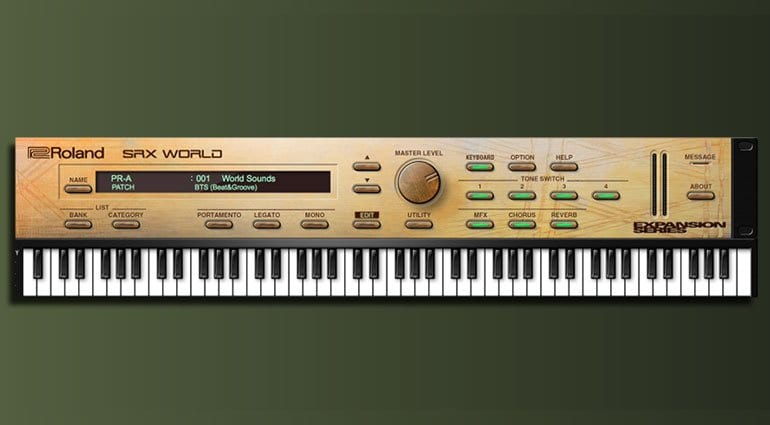 Roland Cloud SRX World
