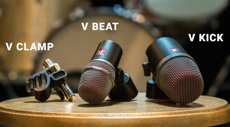 sE V Series Drum Mics