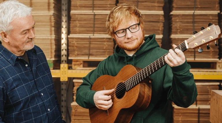 Ed Sheeran and George Lowden.