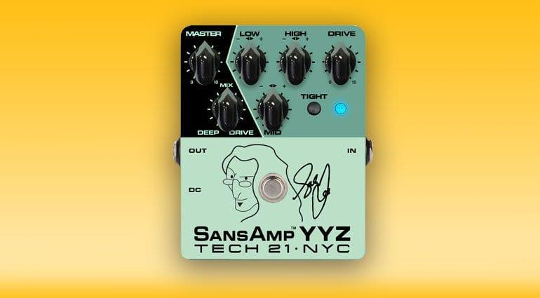 Tech21 Geddy Lee SansAmp YYZ