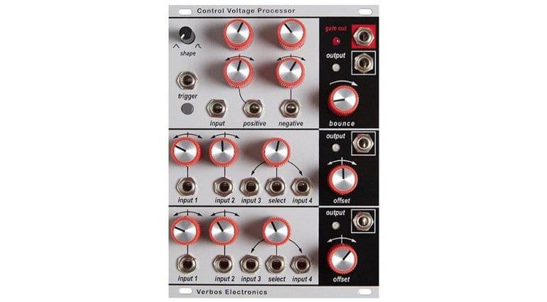 Verbos Control Voltage Processor