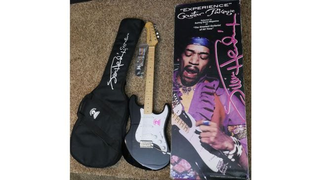 Gibson Jimi Hendrix Signature bundle