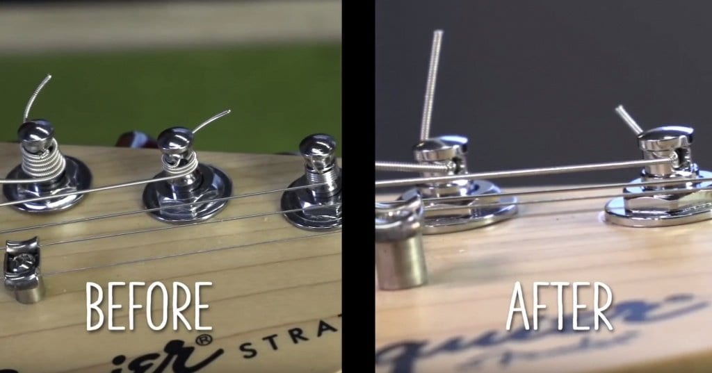 Locking Tuners are a fantastic upgrade for a Squier Stratocaster