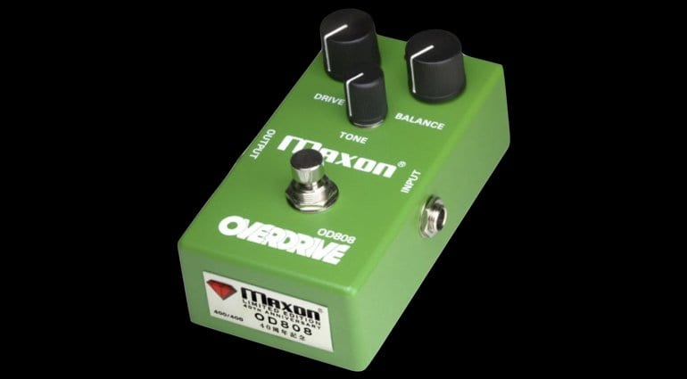 Maxon OD808-40 - Celebrating the 40th Anniversary of their overdrive pedal