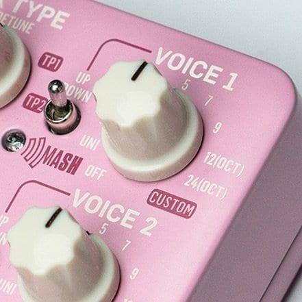 TC Electronic Brainwaves pitch shifter with MASH