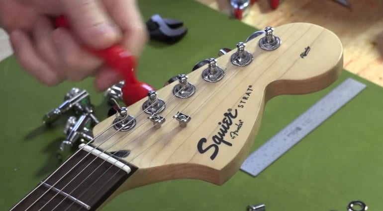 Three modifications to make your Squier Stratocaster play better