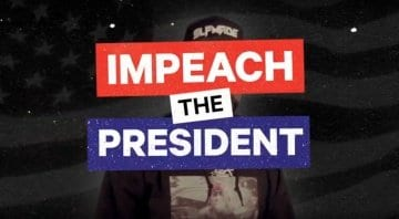 "Tracklib beat contest ""Impeach The President"""
