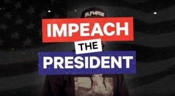 "Tracklib beat contest ""Impeach The President"""
