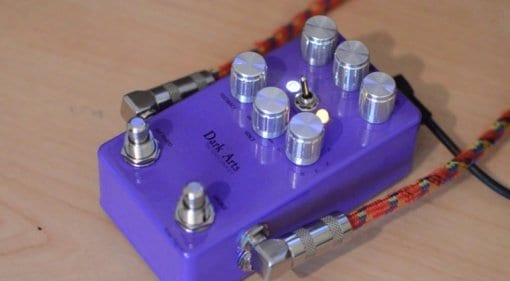 Vein-Tap Dark Arts TAp Tempo Analogue Phaser pedal