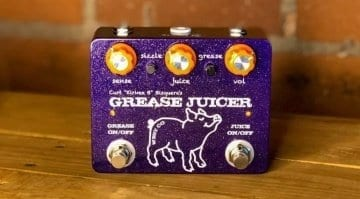 West Co Pedals Grease Juicer fuzz/envelope filter pedal