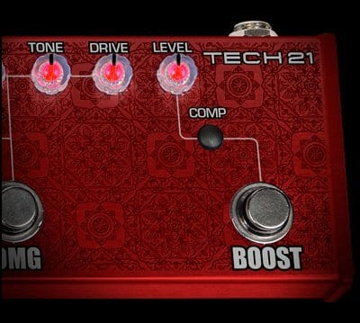 Tech 21 Richie Kotzen RK5 now with Boost and Compressor
