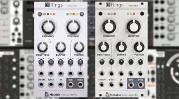 Softube Modular Mutable Instruments Rings