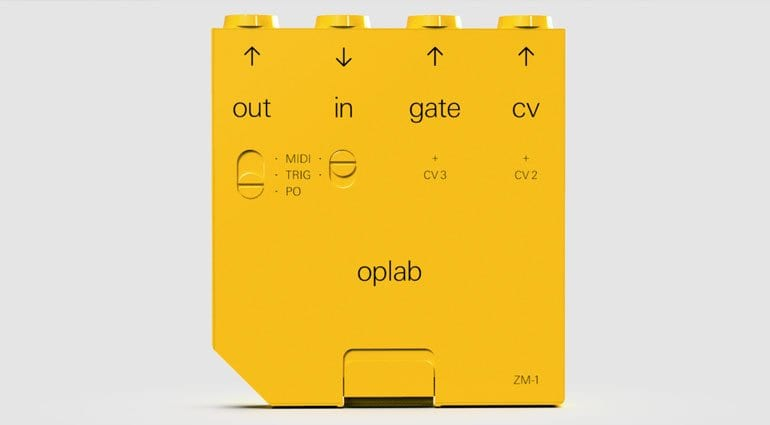 teenage engineering op-z gets a hardware upgrade with the oplab midi  cv module
