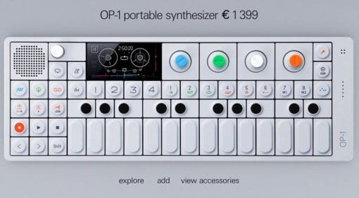 Teenage Engineering OP-1 price