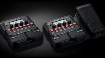 Zoom G1 Four and G1X Four multi-effects pedals