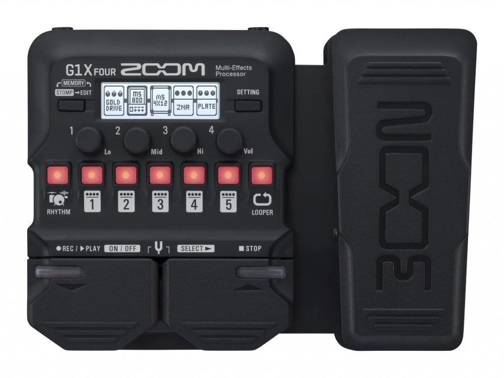 Zoom G1 Four multi-effect