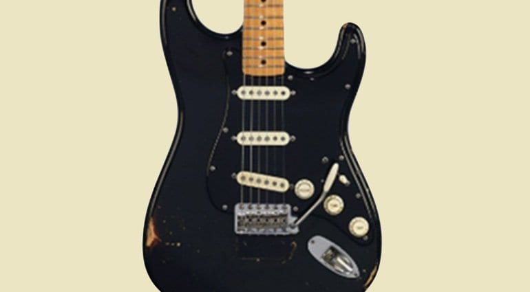 A tour of David Gilmour's Guitar Collection - Pre-Auction