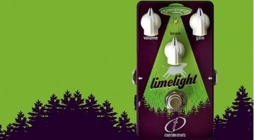 Crazy Tube Circuits Limelight fuzz pedal