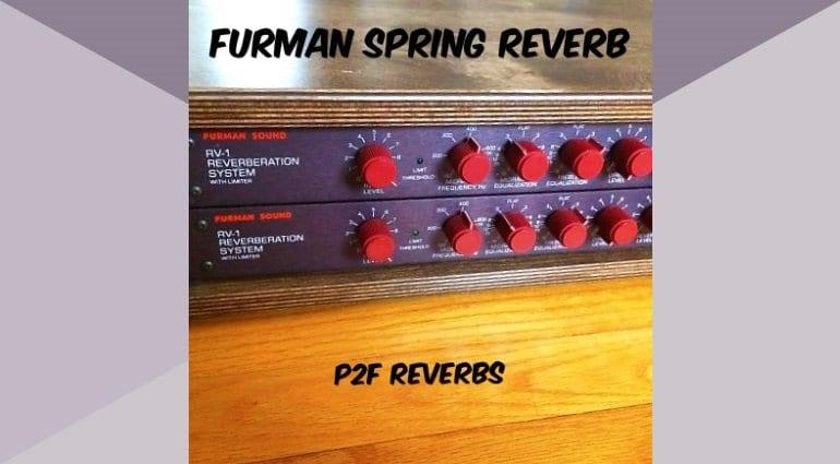 FURMAN RV1 SPRING REVERB COVER