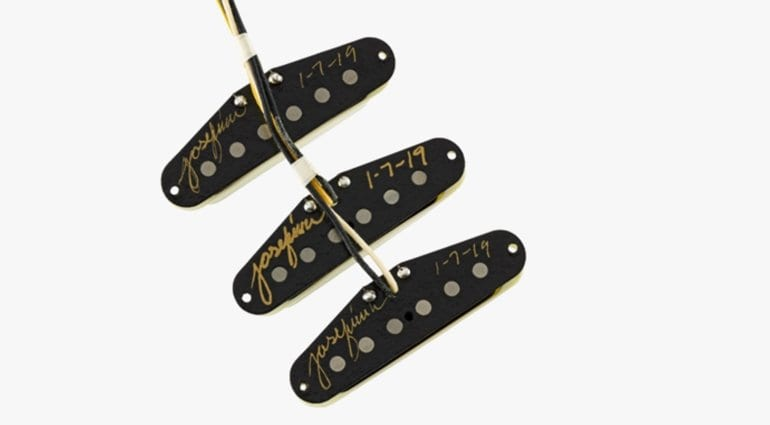 Fender Custom Shop Josefina Hand wound Tomatillo Pickups