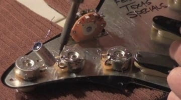 Fender Stratocaster Potentiometers