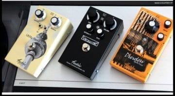Fredric Effects Verzerrer, Utility Perkolator MkII & Dresden Synth Fuzz MkII