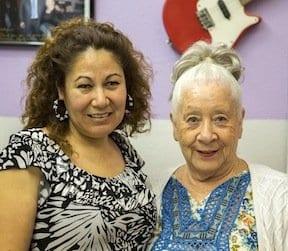 Josefina Campos and Abigail Ybarra