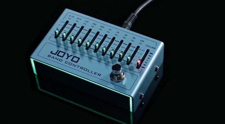 Joyo introduces R 12 Band Controller 10-band graphic EQ pedal